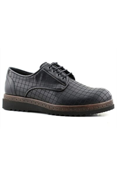 CONTEYNER Erkek Siyah Ayakkabı