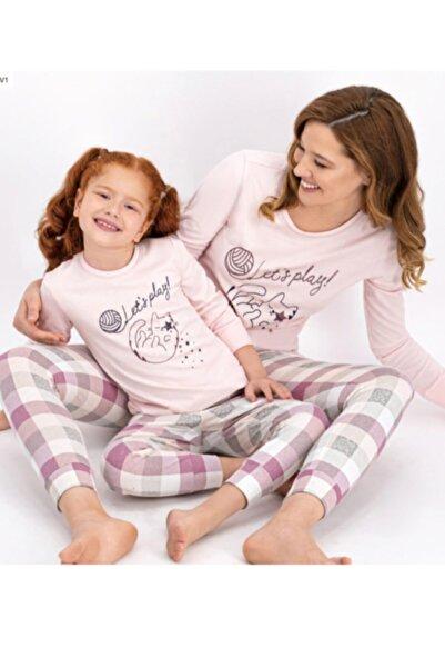 Arnetta Anne Kız Kombin Pembe Pijama Takım 900