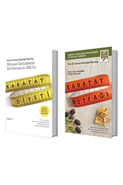 Hayykitap Karatay Diyeti + Karatay Mutfağı - Canan Efendigil Karatay 2 Kitap Set