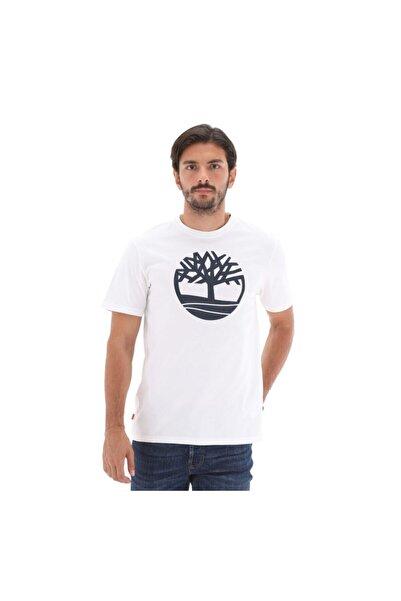 Timberland SS KENNEBEC RIVER TREE LO Beyaz Erkek T-Shirt 101096729