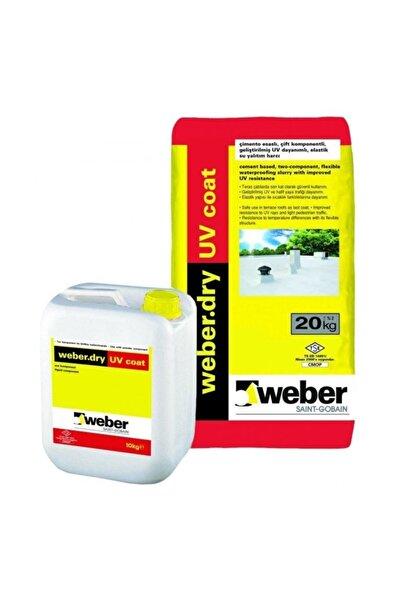 WEBER Dry Uv Coat Set (20 10 KG) Tam Elastik Su Yalıtımı