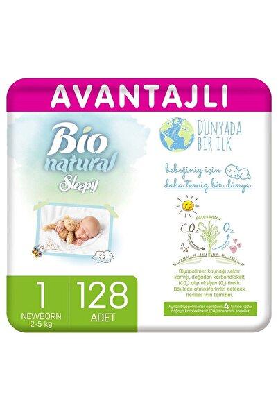 Sleepy Bio Natural Avantajlı Bebek Bezi 1 Numara Yenidoğan 128 Adet