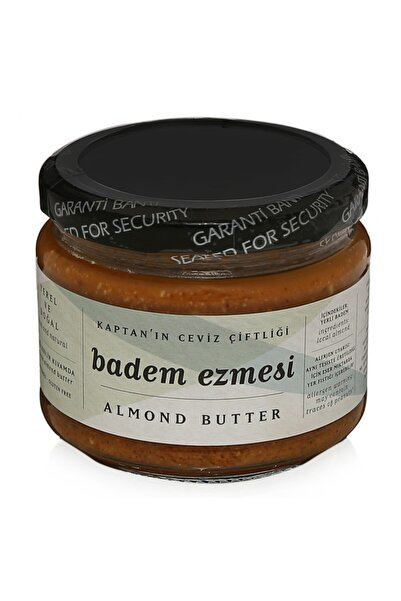 Kaptan`ın Ceviz Çiftliği %100 Yerli Badem Ezmesi- Almond Butter 250 gr