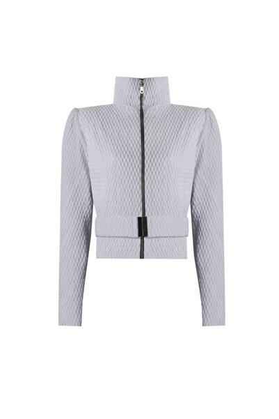 Nur Karaata Kadın Beyaz Sankt Moritz White Jacket
