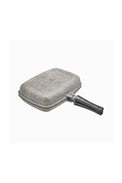 Karaca Dark Silver Bio Granit Double Tava 34 Cm