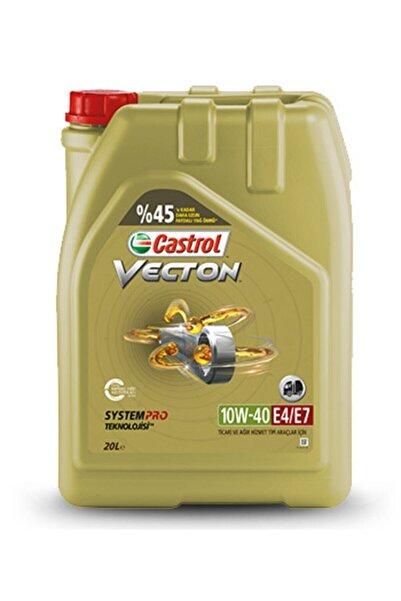 Castrol Yayınları Castrol Vecton 10w40 Long Durain E4/e7 Motor Yağı 20 Lt