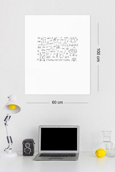 Evbuya 2 Adet 60x100 Cm Beyaz Yapışkansız Elektrostatik Tutunabilir Akıllı Kağıt Tahta