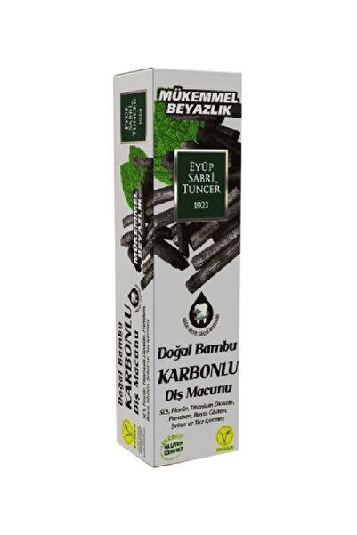 Eyüp Sabri Tuncer Diş Macunu Doğal Bambu Karbonlu 75 ml