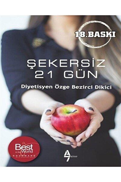 A7 Kitap Şekersiz 21 Gün
