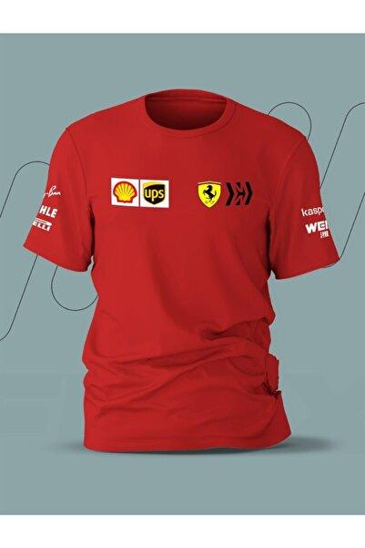 FANBOX SHOP Ferrari 2021 Team T-shirt Mw