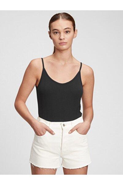 GAP Kadın Fitilli Bodysuit