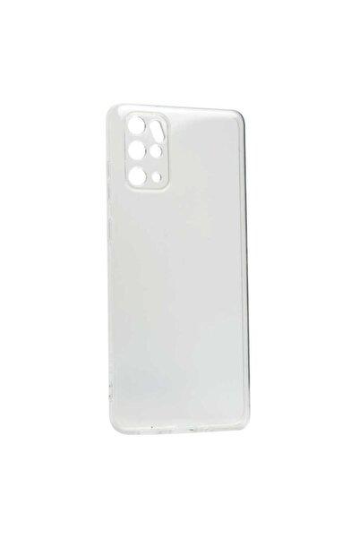 Samsung Galaxy S20 Plus Şeffaf Kılıf Kamera Korumalı Silikon Yumuşak Kapak