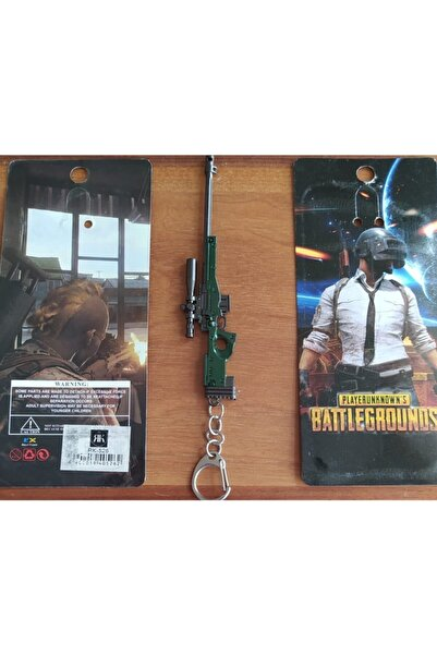 PUBG Aydam 3d Silah Anahtarlık Özel Kuvvetler Avm Aksesuar Çanta Süsü Hediyelik