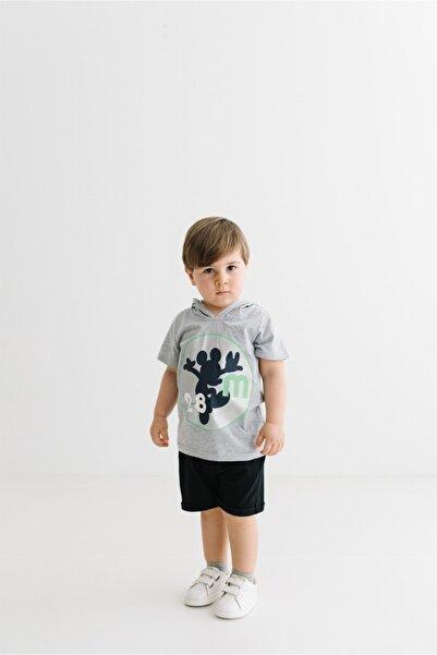 Mickey Mouse Lisanslı Çocuk Kapüşonlu Tişört 17289