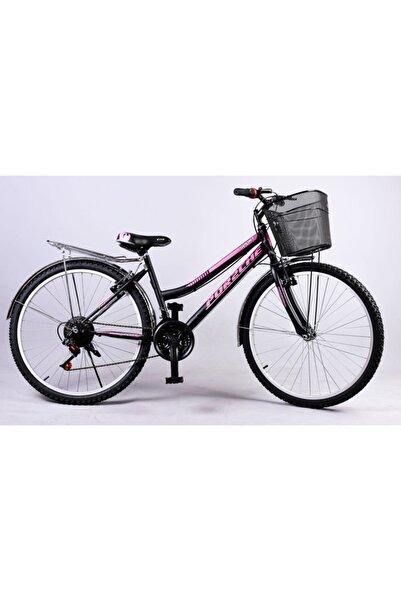 por2che Çamurluklu Bagajlı Sepetli Rahat Kullanışlı Şehir Bisikleti 21 Vites