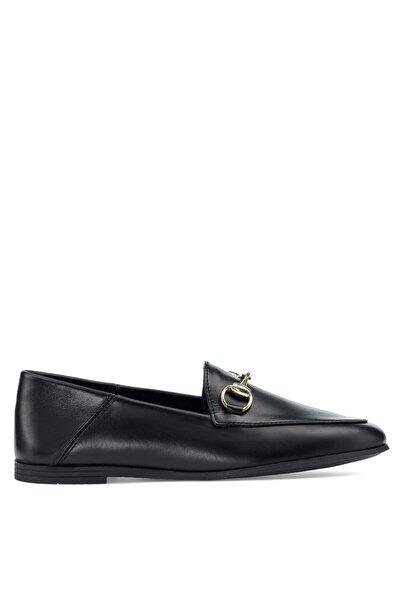 Nine West Lenfer 1pr Siyah Kadın Loafer Ayakkabı