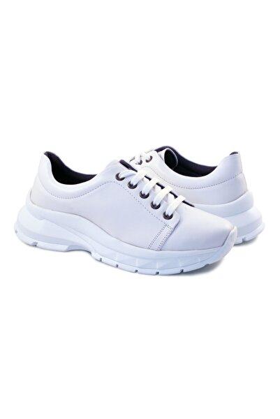 Starfit Kadın Deri Spor Ayakkabısı