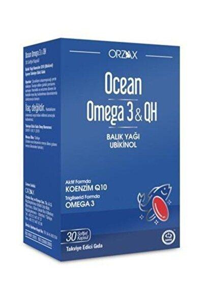 Ocean Ocean Omega 3 & Qh 30 Yumuşak Kapsül