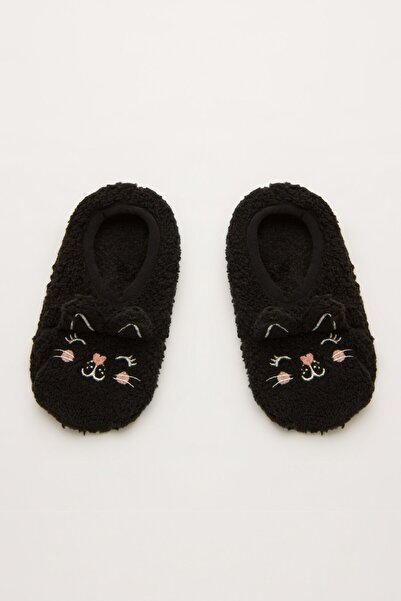 Penti Siyah Kız Çocuk Mommy Cat Çetik