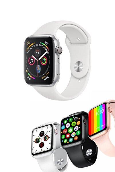 Favors Apple Iphone 11 Uyumlu Watch 6 Plus W26+ Spor Mod Nabız & Tansiyon Ve Ateş Ölçer Su Geçirmez