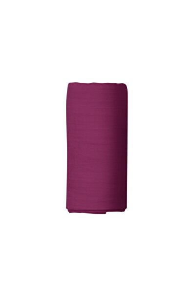 Maki %100 Pamuklu Ranforce Lastikli Çarşaf 160x200 32 cm Derin Flaplı Mor Violet
