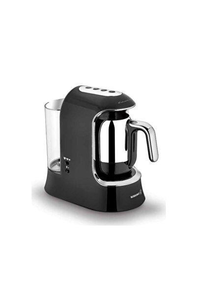 KORKMAZ Kahvekolik Aqua Siyah/krom Otomatik Kahve Makinesi A862-01