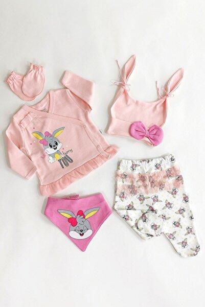 İmaj Kız Bebek Pembe Bunny 5'li Set