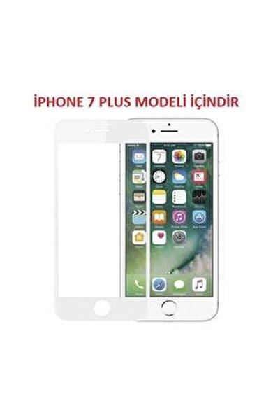 Iphone 7 Plus Kavisli Tam Kaplayan 9d Ekran Koruyucu Film