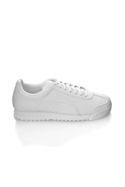 Puma Roma Basic Beyaz Günlük Spor Ayakkabı 354259141