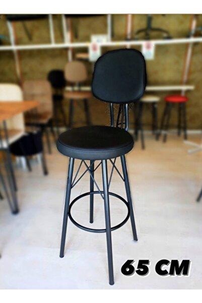 Sandalye Shop Dolce Bar Sandalyesi 65 Cm Siyah. 90 Cm Ve Üzeri Ada & Masalara Uyumlu