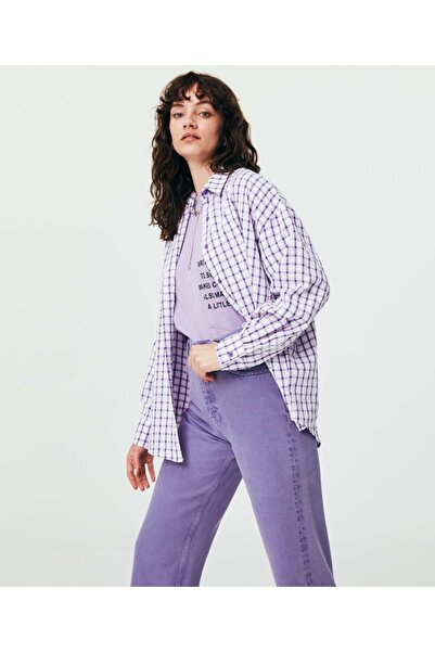 Twist Kare Desen Gömlek