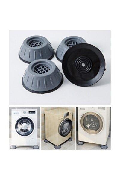 Özasya AVM 4 Adet Çamaşır Makinesi Titreşim Önleyici Kaydırmaz Vantuzlu Stoper Set