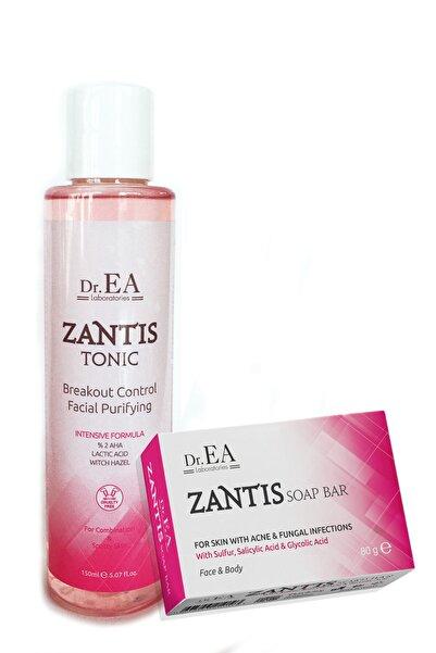 Dr. EA Laboratories Zantis Sivilce Akne Sabunu Ve Gözenek Sıkılaştırıcı Tonik Akne Karşıtı Aha Glikolik Asit Özel Set