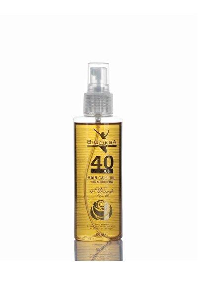 BIOMEGA 40 Bitkili Doğal Saç Bakım Yağı 150 ml