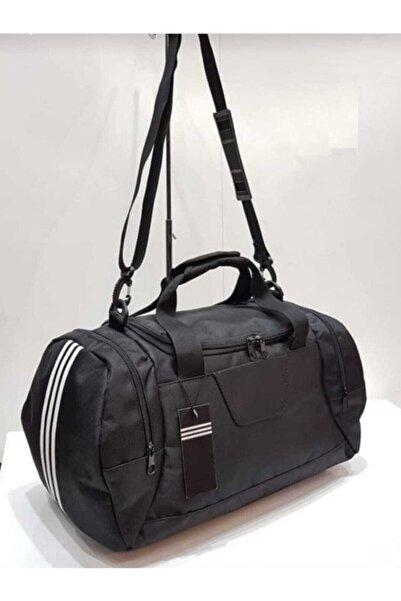 Black Bull Coolcix Unisex Orta Boy Seyahat Fitness Ve Spor Çantası Siyah 45 cm Black