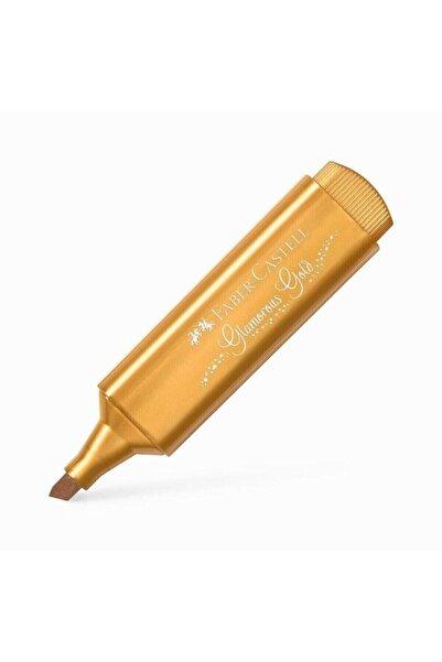 Faber Castell Fosforlu Kalem Metalik Gold (ALTIN)