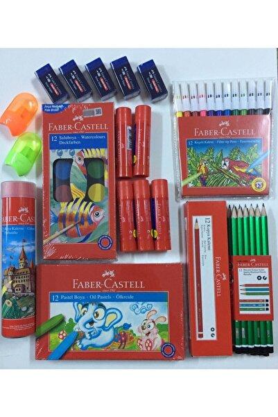 Faber Castell Kaliteli Okul Seti Full
