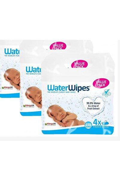 WaterWipes Doğal Islak Mendil 60 Lı X 12 Adet 720 Yaprak