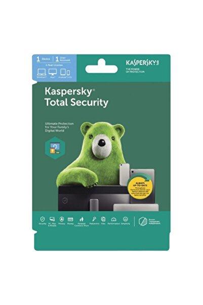 KASPERSKY Total Security 2020 1 Bilgisayar 1 Yıl Türkçe ( Wındows )