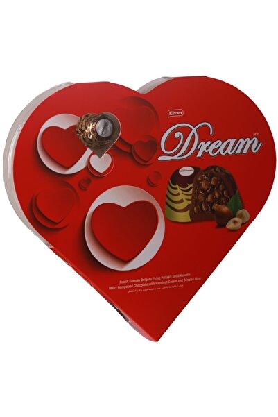 Elvan Dream Fındıklı Çikolata 124 Gr. (1 Kalp Kutu)