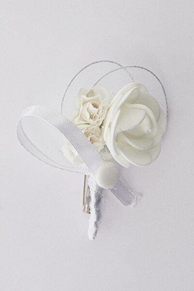 ALTINYILDIZ CLASSICS Erkek Beyaz Yaka Çiçeği