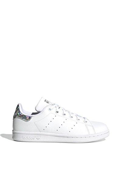 adidas Unisex Çocuk Beyaz Stan Smith Ayakkabı