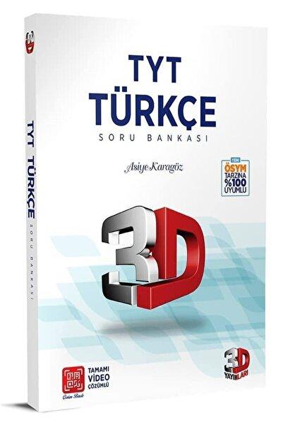 3D Yayınları Tyt 3d Türkçe Soru Bankası