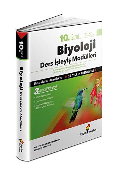 Aydın Yayıncılık Aydın 10. Sınıf Biyoloji Ders Işleyiş Modülleri