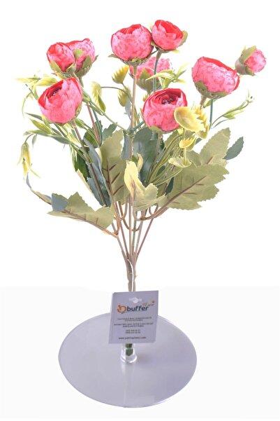 Buffer 6 Dallı 28 Cm Şakayık Gül Yapay Çiçek Pembe-ck011pe