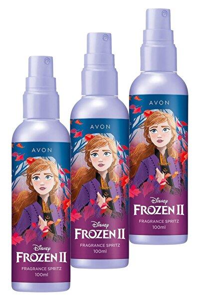 AVON Disney Frozen Iı Parfümlü Vücut Spreyi 100 Ml. Üçlü Set