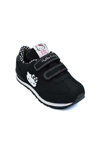 Hello Kitty Kız Çocuk Siyah Spor Ayakkabı