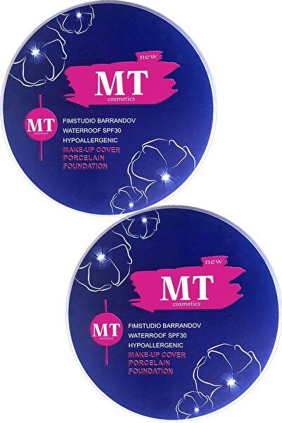 Makeuptime Porselen Fondöten Make-up Cover 2 Adet 209: Açık Ton