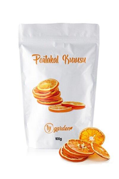 Tiji Garden Kurutulmuş Portakal 100 Gr Şekersiz Doğal