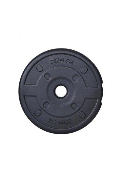 Aydın Sport 2.5 Kg Dambıl Ağırlık Plakası Siyah Renkli